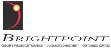 BRIGHTPOINT CREATIVE WIRELESS DISTRIBUTION · CUSTOMER COMMITMENT · CUSTOMIZED SERVICES
