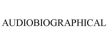 AUDIOBIOGRAPHICAL