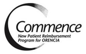 COMMENCE NEW PATIENT REIMBURSEMENT PROGRAM FOR ORENCIA