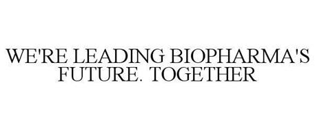 WE'RE LEADING BIOPHARMA'S FUTURE. TOGETHER