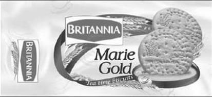 MARIE GOLD BRITANNIA TEA TIME BISCUITS