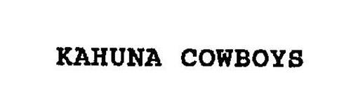 KAHUNA COWBOYS