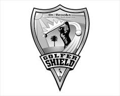GOLFER SHIELD DR. BROOKS' EXCLUSIVE SPORTSMAN'S SUNBLOCKING FORMULA
