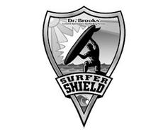 SURFER SHIELD DR. BROOKS' EXCLUSIVE SPORTSMAN'S SUNBLOCKING FORMULA