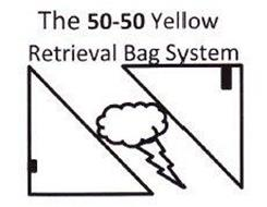 THE 50-50 YELLOW RETRIEVAL BAG SYSTEM