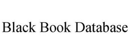 BLACK BOOK DATABASE