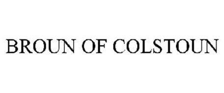 BROUN OF COLSTOUN