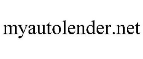 MYAUTOLENDER.NET