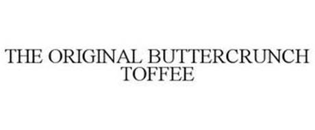 THE ORIGINAL BUTTERCRUNCH TOFFEE