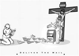 GOSPEL MAIL · DELIVER THE MAIL ·