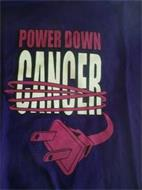 POWER DOWN CANCER