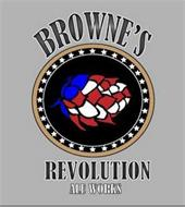 BROWNE'S REVOLUTION ALE WORKS