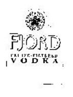 FJORD FREEZE-FILTERED VODKA FREEZE FILTERED EXTRA PURE