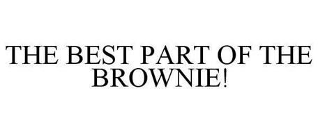 THE BEST PART OF THE BROWNIE!
