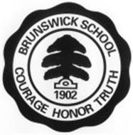 BRUNSWICK SCHOOL 1902 COURAGE HONOR TRUTH