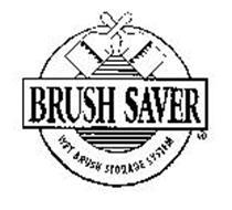 BRUSH SAVER WET BRUSH STORAGE SYSTEM