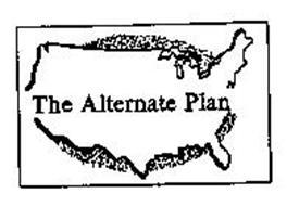 THE ALTERNATE PLAN
