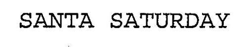 SANTA SATURDAY