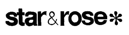 STAR & ROSE
