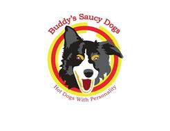 BUDDY'S SAUCY DOGS HOT DOGS WITH PERSONALITY