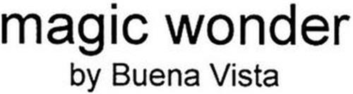 MAGIC WONDER BY BUENA VISTA