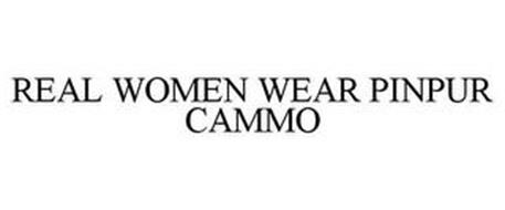 REAL WOMEN WEAR PINPUR CAMMO