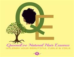 QE QUEENEEVE NATURAL HAIR ESSENCE UNLEASH YOUR BEAUTIFUL CURLS & COILS
