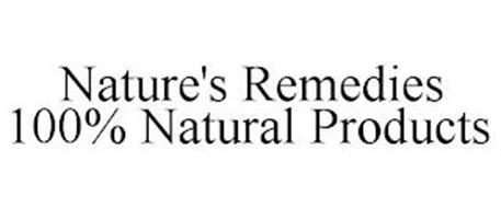 NATURE'S REMEDIES 100% NATURAL PRODUCTS