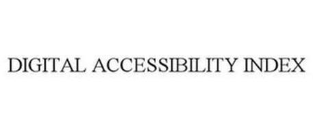 DIGITAL ACCESSIBILITY INDEX