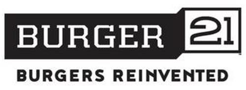 BURGER 21 BURGERS REINVENTED
