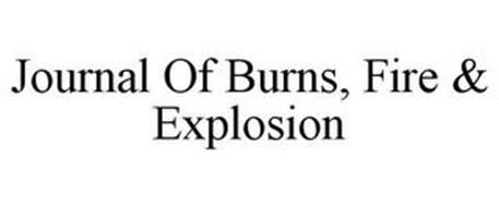 JOURNAL OF BURNS, FIRE & EXPLOSION
