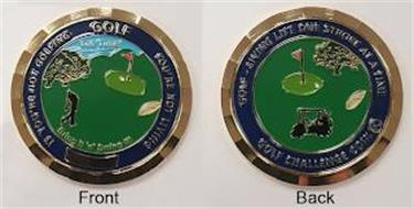 IF YOU RE NOT GOLFING GOLF YOU RE NOT LIVING TEE TIME 1 BRING IT AND SWING IT GOLF LIVING LIFE ONE STROKE AT A TIME GOLF CHALLENGE COIN 18
