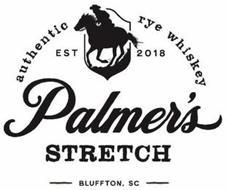 PALMER'S STRETCH AUTHENTIC RYE WHISKEY EST 2018 BLUFFTON, SC