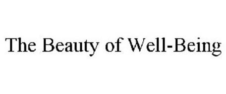 THE BEAUTY OF WELL-BEING