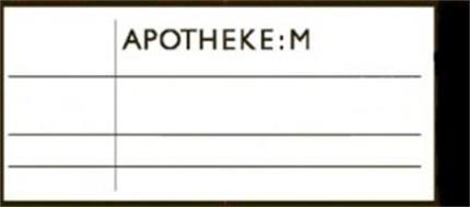APOTHEKE:M