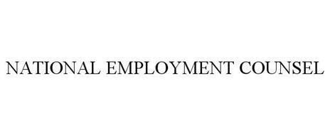 NATIONAL EMPLOYMENT COUNSEL
