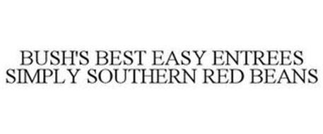 BUSH'S BEST EASY ENTREES SIMPLY SOUTHERN RED BEANS