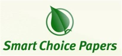 SMART CHOICE PAPERS Trademark of Business Cards Tomorrow