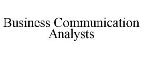BUSINESS COMMUNICATION ANALYSTS
