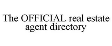THE OFFICIAL REAL ESTATE AGENT DIRECTORY