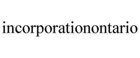 INCORPORATIONONTARIO