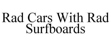 RAD CARS WITH RAD SURFBOARDS