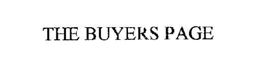 THE BUYERS PAGE