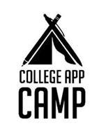COLLEGE APP CAMP