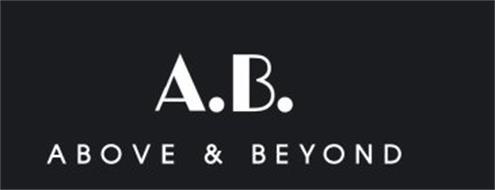 A.B. ABOVE & BEYOND