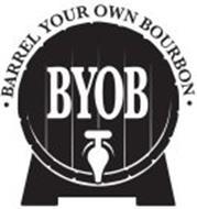BYOB · BARREL YOUR OWN BOURBON ·