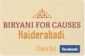 BIRYANI FOR CAUSES HAIDERABADI CHECK OUT FACEBOOK