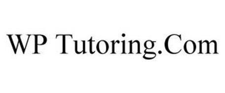 WP TUTORING.COM