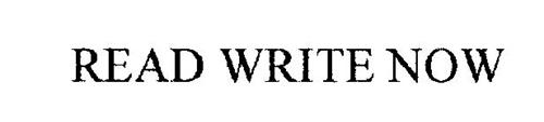 READ WRITE NOW