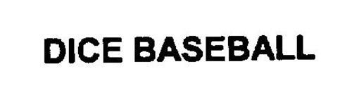 DICE BASEBALL